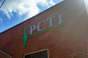 Front of PCTI's Facility