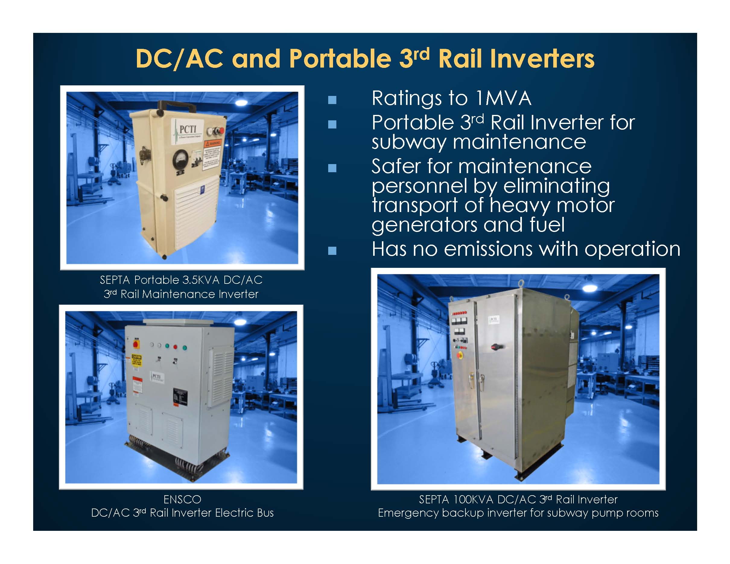 Third Rail Inverters