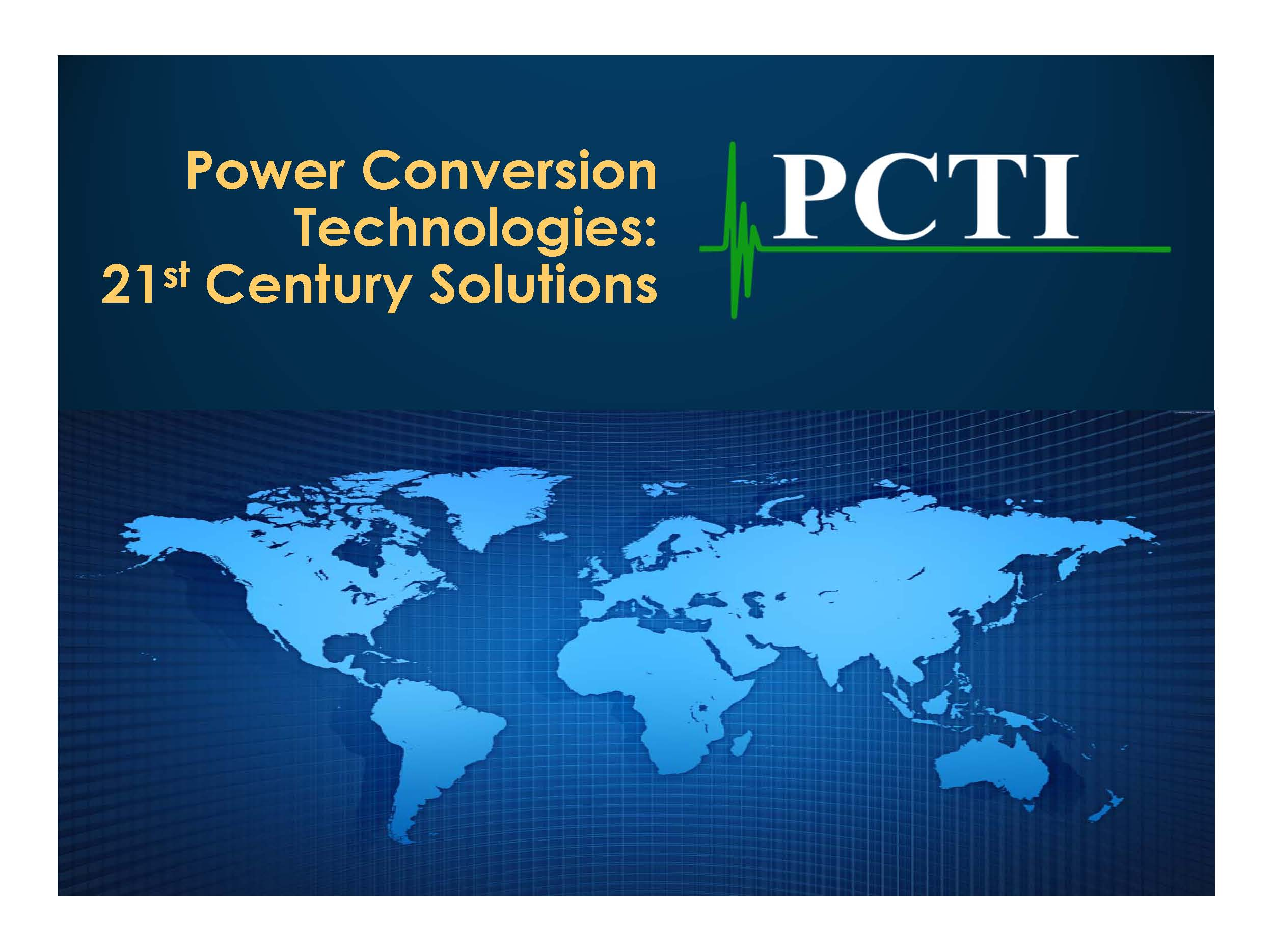 21st Century Power Conversion Solutions