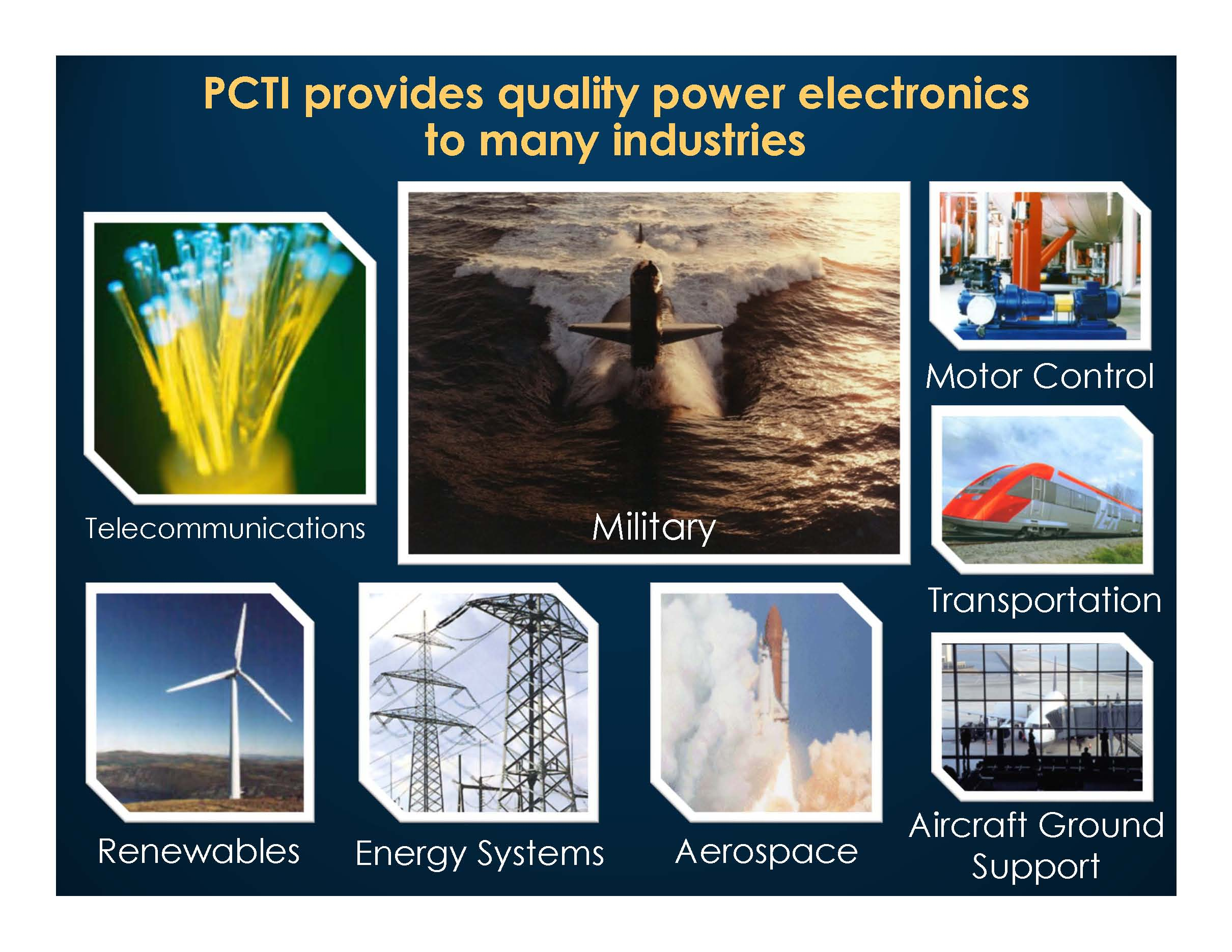 Industries PCTI Serves