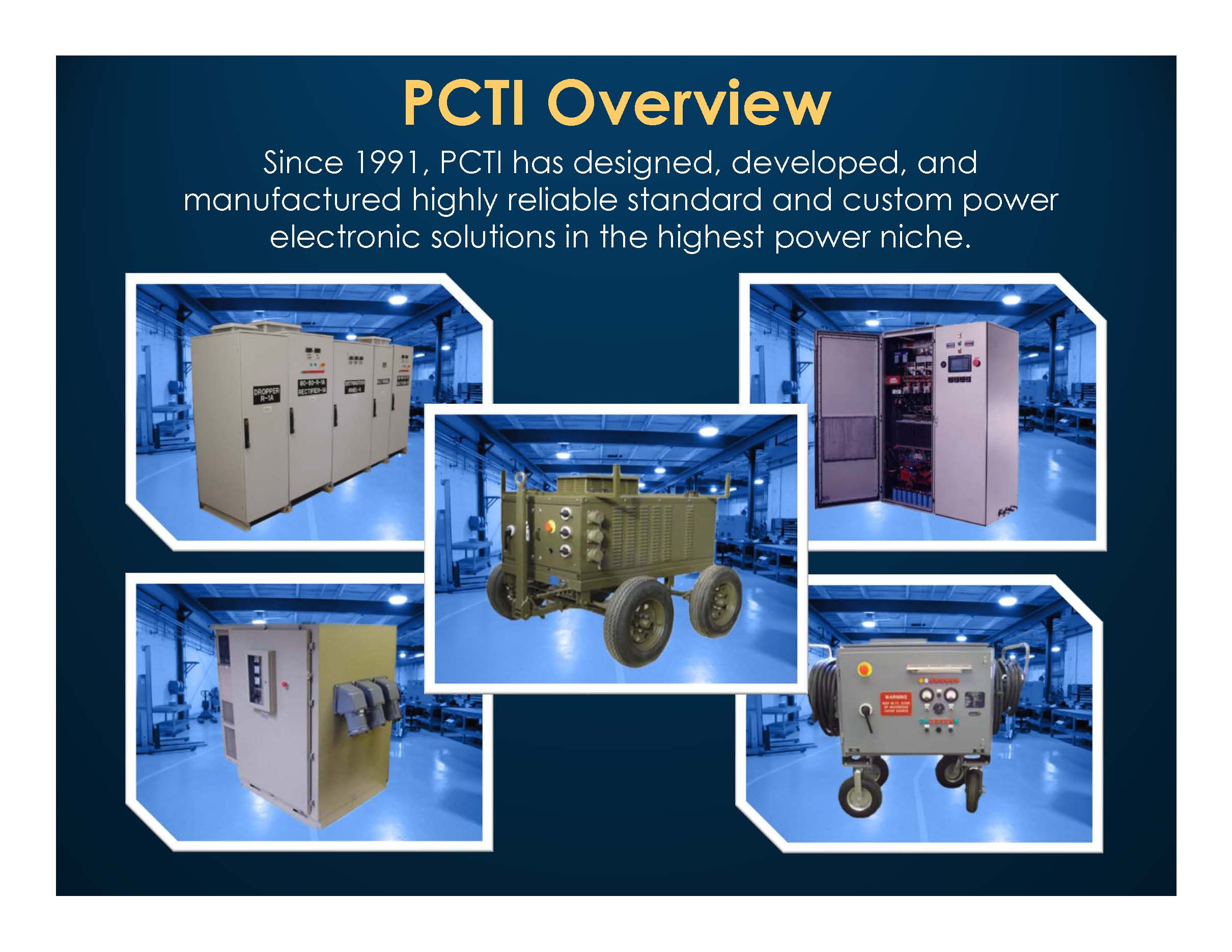 PCTI Overview