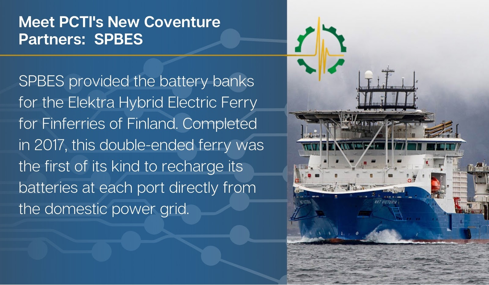 Conventure Partner: SPBES Battery Banks