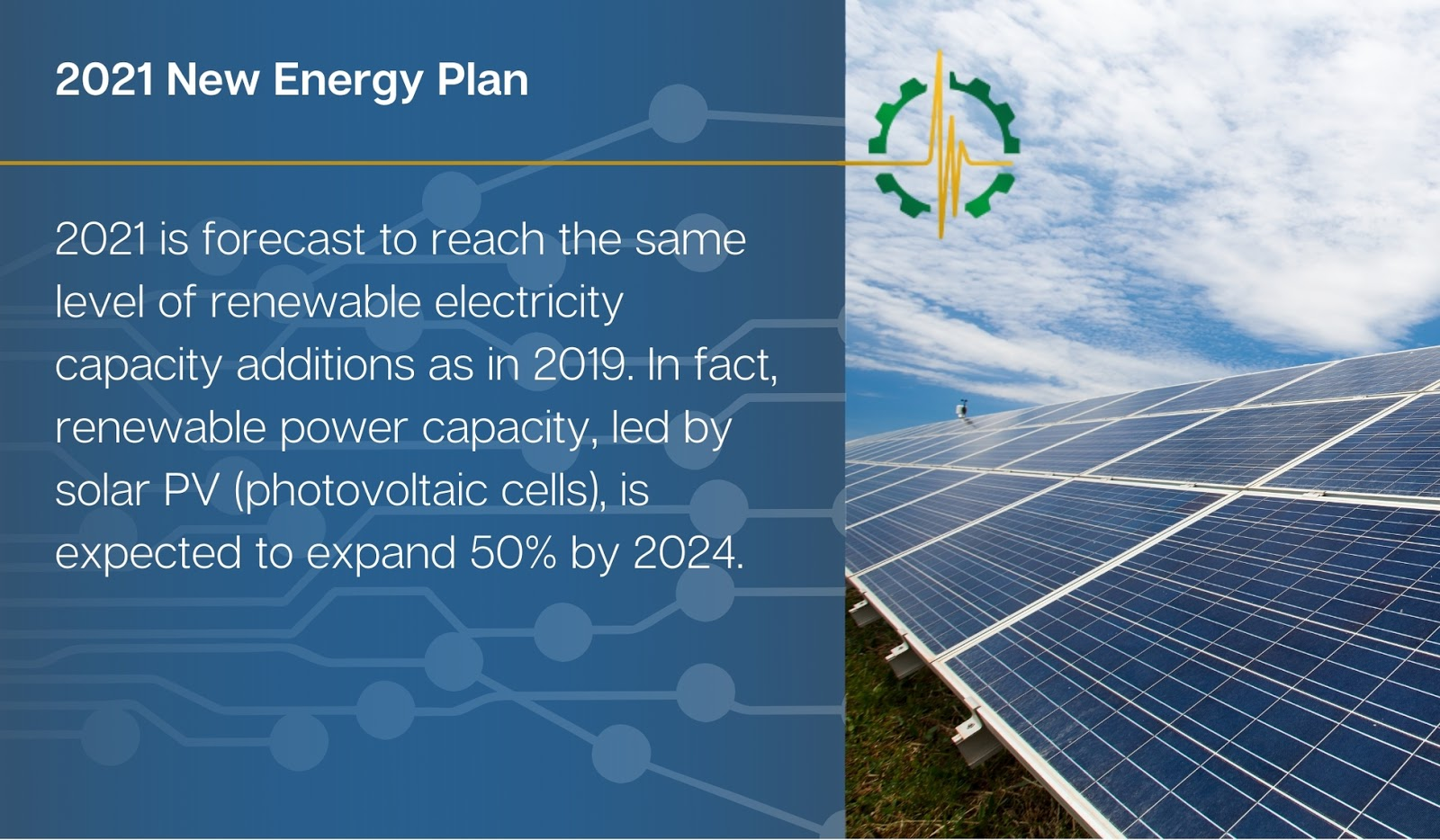 2021 is forecast to reach the same level of renewable electricity capacity additions as in 2019